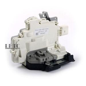 Door Lock Latch Actuator Front Right OEM For VW Passat AUDI A4 A5 Q5 Q7 TT 7-Pin