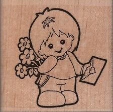 Stamp Oasis Special Delivery Rubber Stamp