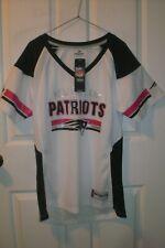Ladies Majestic New England Patriots Sport Jersey Size M NWTS