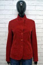 WOOLRICH Giacca Donna Taglia S Cappotto Corto a Costine Blazer Jacket Women