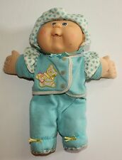 Cabbage Patch Kid Vintage Hasbro Doll Blonde Hair Blue Eyes 1989 Paci Face
