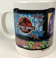 The Lost World : Jurassic Park 1997 Velociraptor Tetley Promo Ceramic Mug - New