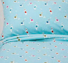 Pillowfort Kids Llama Landing Cotton Flannel Sheet Set, TODDLER 3-pcs