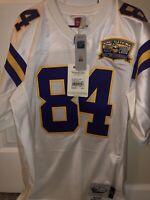 Randy Moss Minnesota Vikings Authentic Mitchell And Ness Jersey Size 44(large)