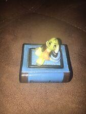 Jiminy Cricket Disney Porcelain Trinket Pill Box Michael Lawrence 1996 Pinnochio