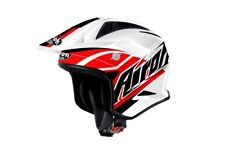 AIROH TRR BREAKER RED TRIALS HELMET