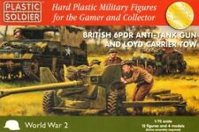 Plastic Soldier 1/72 6PDR Anit-Tank Gun & Loyd Carrier Tow * 2 # WW2G20004