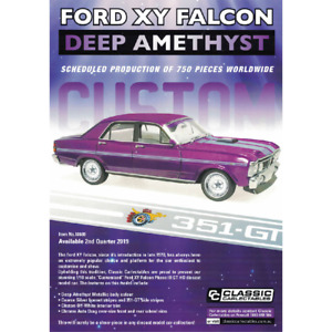 Classic Carlectables – 1/18 Scale – Ford XY Falcon Phase III GT-HO Custom
