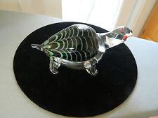 Beautiful Murano Glass Turtle Made for Helge International
