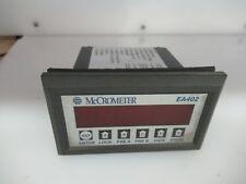MCCROMETER PANEL METER EA402-10 MS733RTAS1A