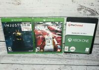 Xbox One Injustice 2, Madden NFL 18 And NBA 2K 17 Bundle Deal