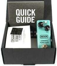 Mxr M296 Classic 108 Fuzz Mini Electric Guitar Effect Effects Pedal