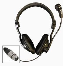 Auriculares y micrófono. para Tecpro, Altair comunicaciones sistemas, teatro y audio etapa