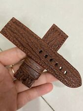 Customize Handemade Shark Leather Watch Strap 24mm (Make all your request )