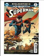SUPERMAN # 27 (DC Universe Rebirth, DECLARATION PART ONE, Sep 2017), NM/M NEW