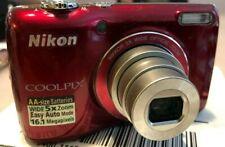 Nikon Coolpix L26 16.1 MP wide 5X Zoom 4.6-23mm 33028113