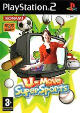 U-Move Super Sports (Game Only) PS2 (Playstation 2) - Versandkostenfrei-UK Verkäufer
