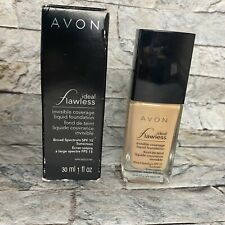 Avon Natural Beige Ideal Flawless Invisible Coverage Liquid Foundation