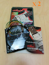 2 Sets Alice Electric Guitar Steel strings, Colorful, AE535C. 0.23mm-1.07mm