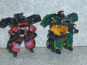 Transformers Cybertron Movie OVERHAUL scout class lot of 2