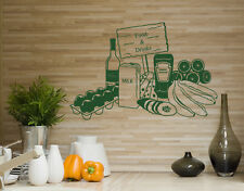 Food & Drinks - highest quality wall decal sticker