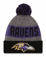 Baltimore Ravens Cuffed Beanie Knit Winter Cap Hat NFL Authentic