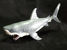 "Animal Planet  Great White Shark Sea Monster 11"" Jaws Biting Action toy"