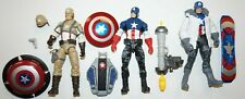 MARVEL UNIVERSE FIRST AVENGER CAPTAIN AMERICA CONCEPT LOT DESERT WINTER NIGHT