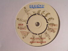 ANDY MACKAY A Song Of Friendship N/Mint Bronze 1978 UK 7""
