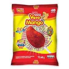20-pcs- Vero Mango w/chilli lollipop the original 12-oz bag
