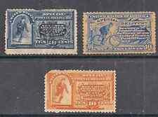 US stamps #E1 -10¢ M #E6 -10¢ Messenger on Bicycle, #E3 -10¢ Messenger Run mint