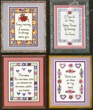 MEMORIES Friendship Love CROSS STITCH KIT ~ NEW