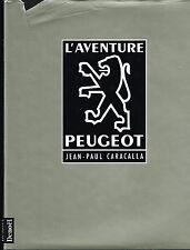 livre automobile: Jean-Paul Caracalla: l'aventure Peugeot. denoël