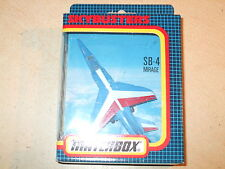 Vintage matchbox-skybusters-mirage F1-SB-4 - mint & boxed-rapide postage