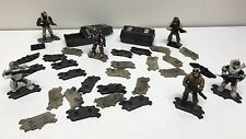 MEGA BLOKS CONSTRUX LOT OF 32 STANDS / BASE PLATES STAND FOR HALO / CALL OF DUTY