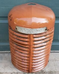 vintage Case SC Tractor Grill SC Nose Cone Straight Nice an case elblem