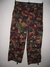 Swiss Army Alpenflage lightweight camouflage trousers
