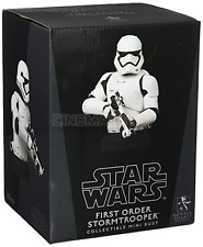 Star Wars Ep. VII First Order Stormtrooper DLX Deluxe Bust GENTLE GIANT Statue