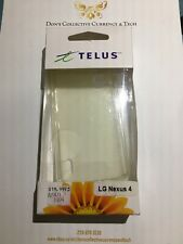 Telus Branded Gelskin Case For LG Nexus 4 - Clear