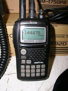 IC-E92D ICOM DL D-Star Dual Band GPS