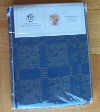 New Pinch Pleated Rod Pocket Panel Drape Curtain Blue 50 x 95