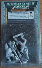 CLASSIC Metal Warhammer 40.000 40k Eldar OSCURI GUERRIERO CON SCURE LANCIA NUOVO CON SCATOLA