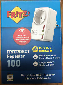 AVM Fritz!DECT Repeater 100 OVP (20002598)