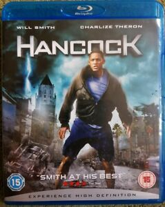Hancock (Blu-ray, dvd 2008, 2-Disc Set) GREAT  CONDITION - Will Smith