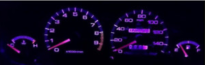 Pink/Purple Gauge Cluster LED Bulb KIT for Acura Integra DC2 DC4 DB8 1994-2001