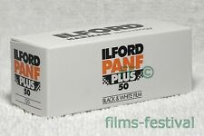 5 rolls ILFORD PANF 50 120 Black and White roll Film B&W