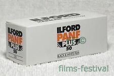 5 X ILFORD Pan F Plus 50 B&w NEG Film 120 Med Format Size Expiry 03/2017