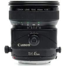 Canon TS-E 45mm f2.8 Tilt Shift Lens