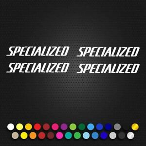 Specialized Ariel Small Text Decal. (104p6)
