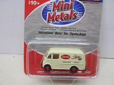 ~Mini Metals~ International Metro Van- Taystee Brand~ Ho Scale
